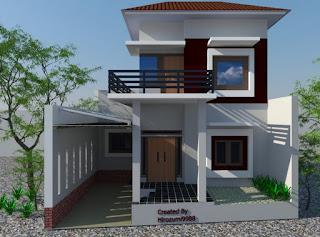 Gambar Desain Rumah 2 Lantai 02