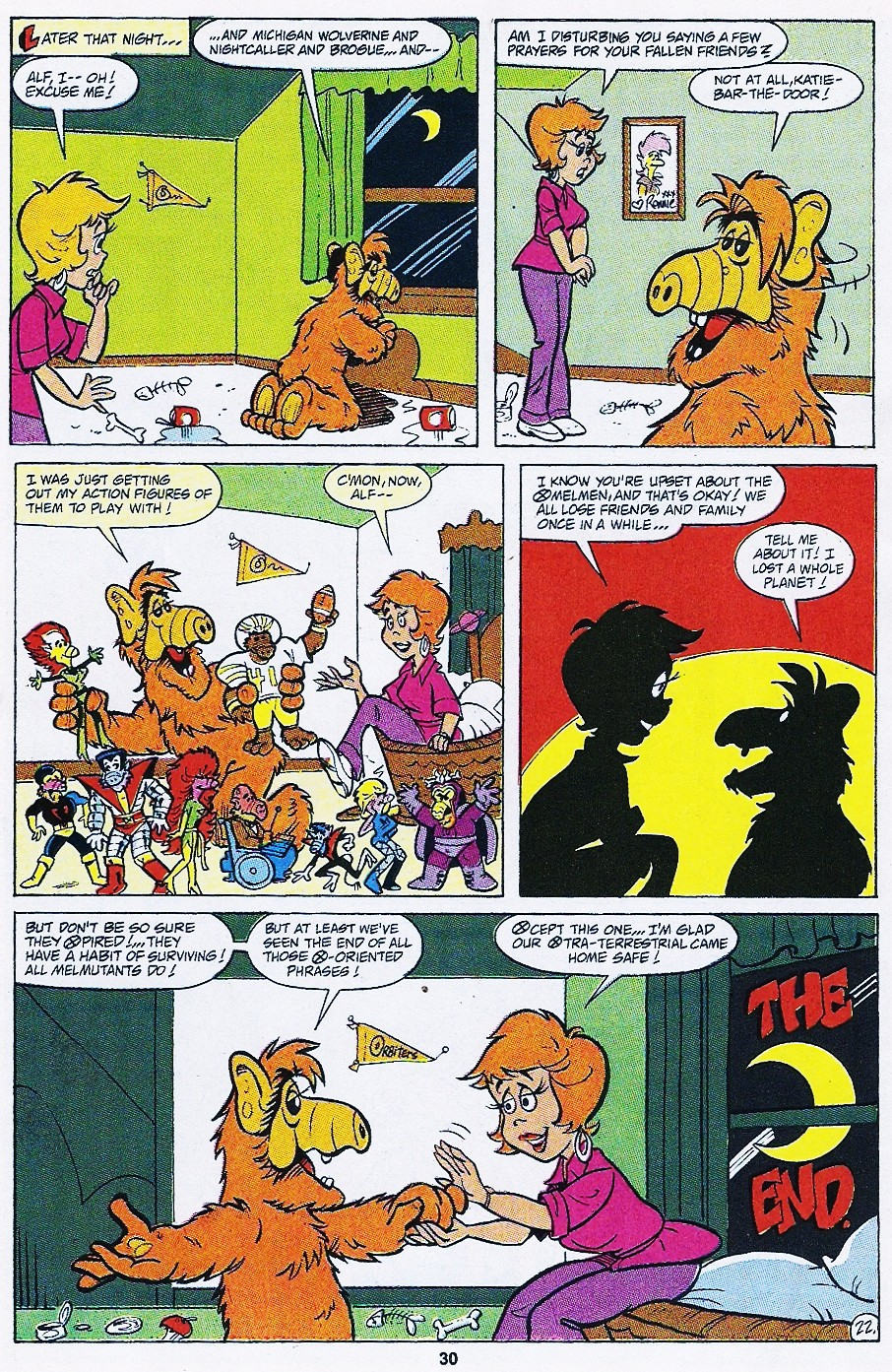 Read online ALF comic -  Issue #44 - 32
