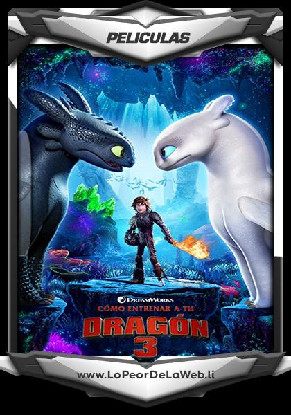 Cómo Entrenar a tu Dragón 3 (2019).HDRip 720p.(Latino Line)