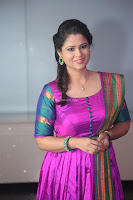 Shilpa Chakravarthy in Purple tight Ethnic Dress ~  Exclusive Celebrities Galleries 023.JPG