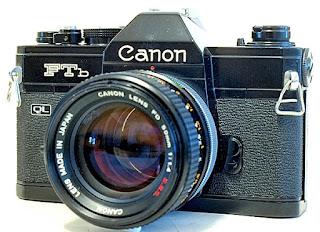 Canon FTb QL, View, Front