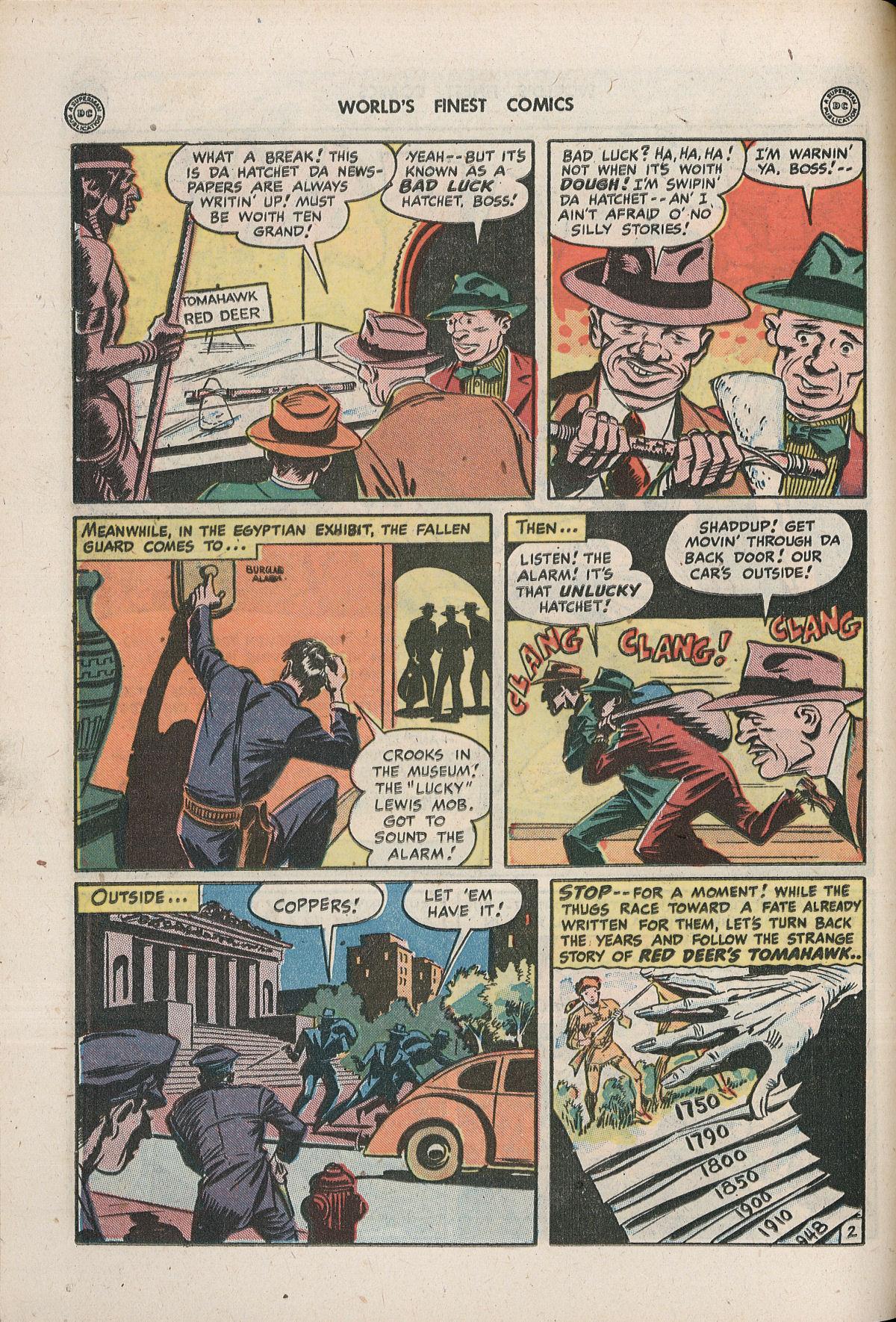 Read online World's Finest Comics comic -  Issue #33 - 38