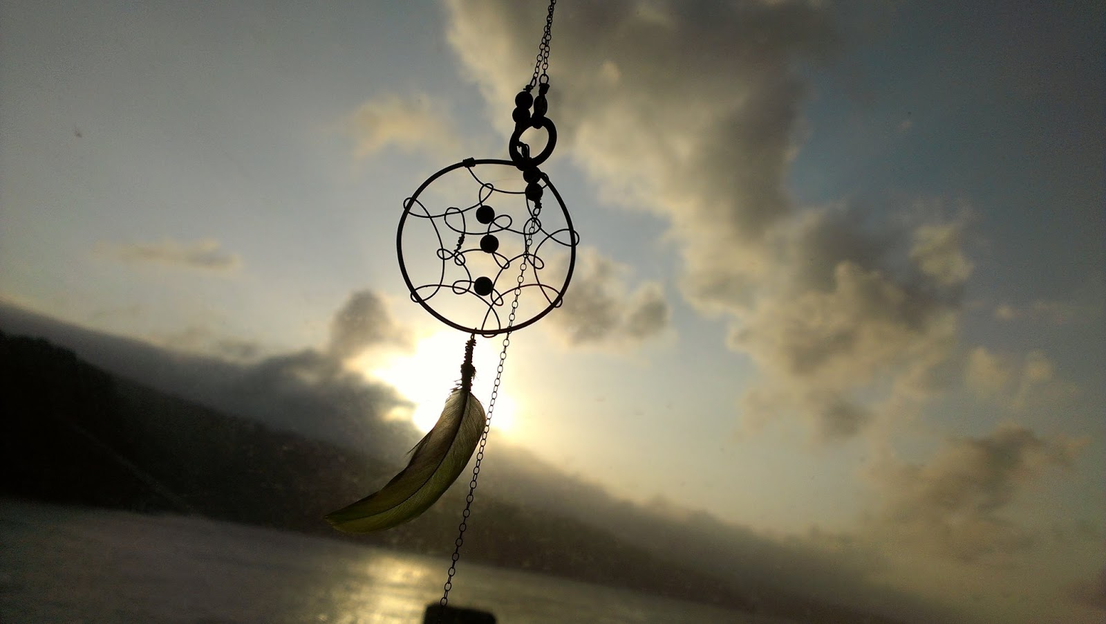 Life Under Native Skies: A Dream Catcher's Sunset