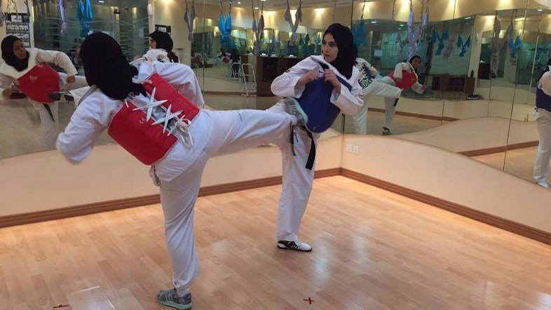 Ini Alasan Wanita Saudi Berlatih Taekwondo