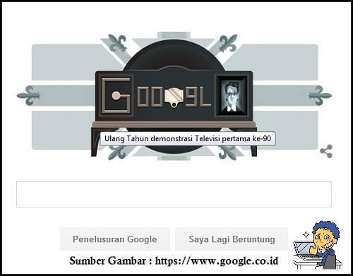 Google Doodles : Siapakah Penemu Televisi, Ulang Tahun Demonstrasi Televisi Pertama ke-90