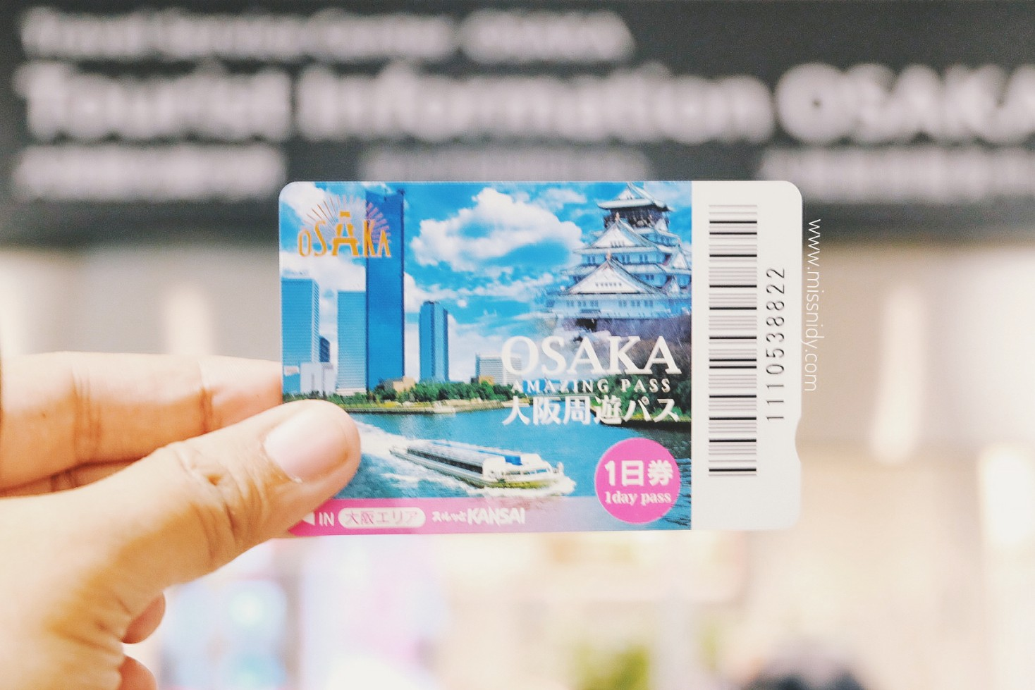 osaka amazing pass - one day pass