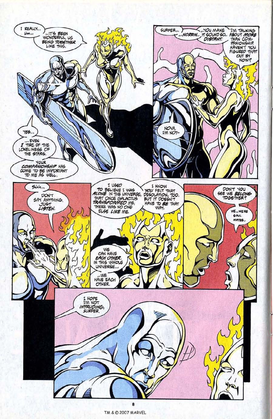 Read online Silver Surfer (1987) comic -  Issue #99 - 10