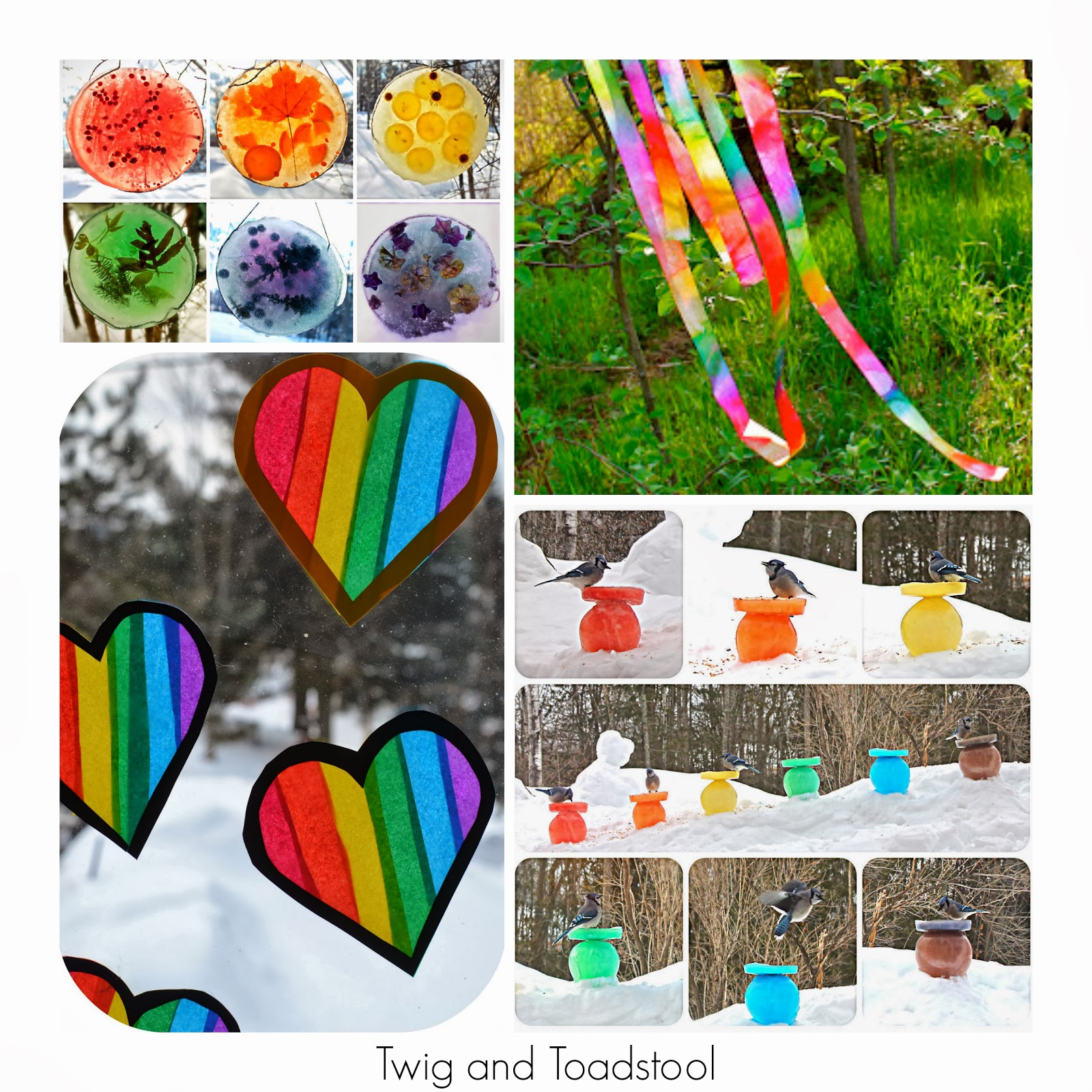 36 Rainbow Activities for Babies, Toddlers, Preschoolers and Older Kids