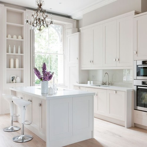 white kitchen cabinets color choices peque 209 os detalles martes deco cocinas blancas 28716