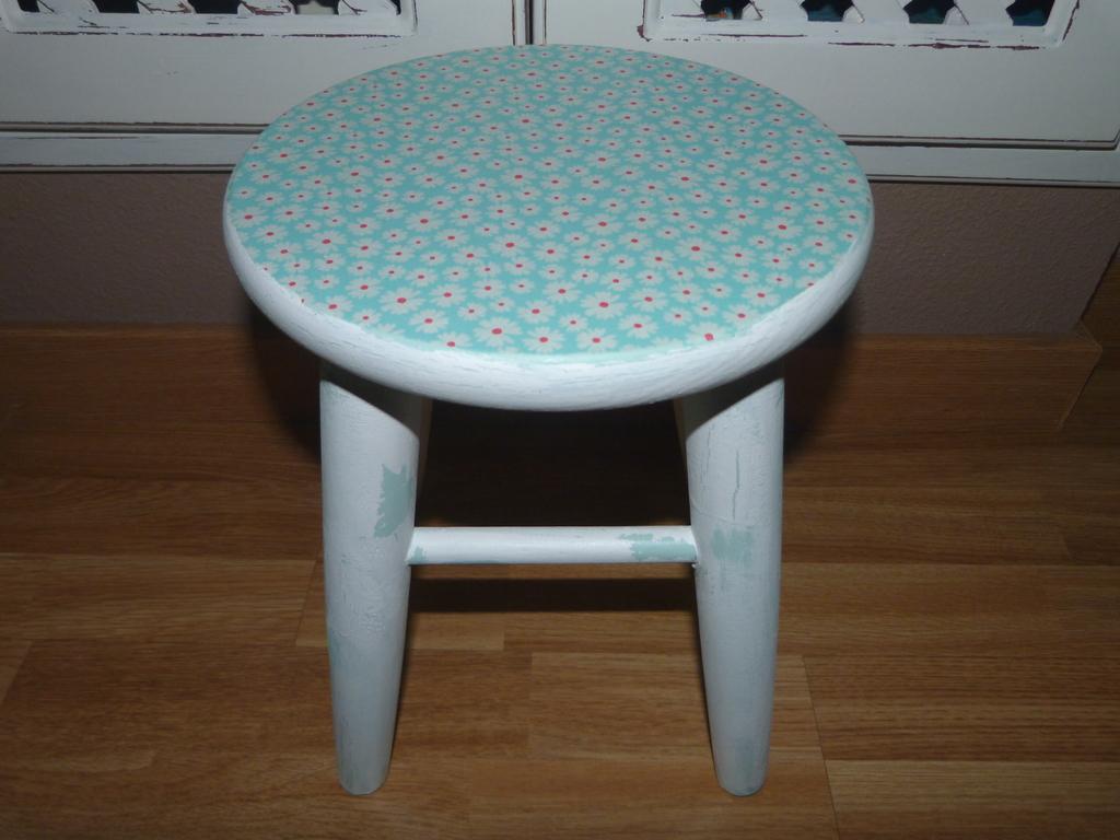 Decoupage en muebles paso a paso handbox craft lovers - Muebles craquelados ...
