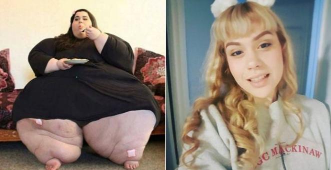 Amber Rachdi Sebelum dan setelah diet