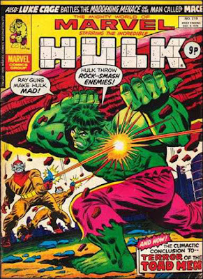 Mighty World of Marvel #219, Toad Men