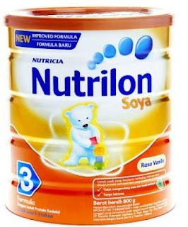 Daftar Harga Susu Nutrilon Nutricia Terbaru 2015