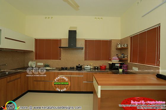 Kitchen interior, Pala, Kerala