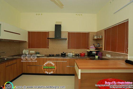 Kitchen interior, Pala, Kerala