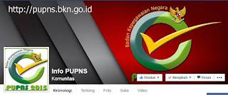 Halaman Facebook PUPNS