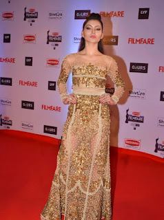 Urvashi Rautela at awards function