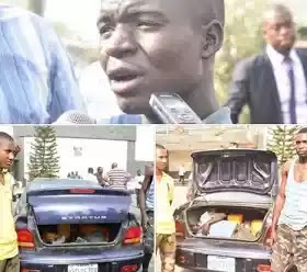 Governor Ambode's Convoy Arrested Airforce Cadets Who Lock A Boy In Car Trunk