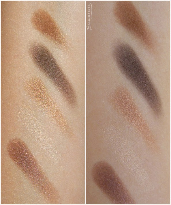 Dior 5 Couleurs Cuir Cannage Eyeshadow Palette #796 swatches