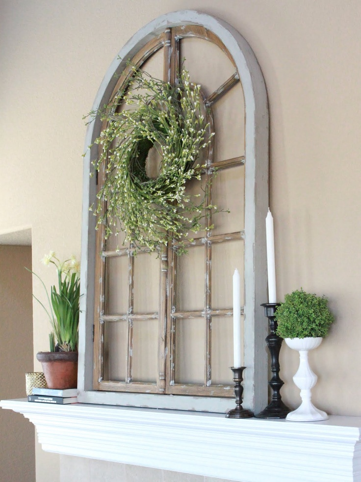 How to Recycle: Upcycling Old Window Panel & Shutters