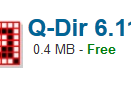 Free Download Q-Dir 2017 Offline Installer