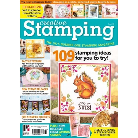 I design for Creative Stamping Magazine
