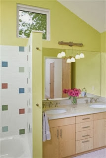 elegant kids bathroom design photo