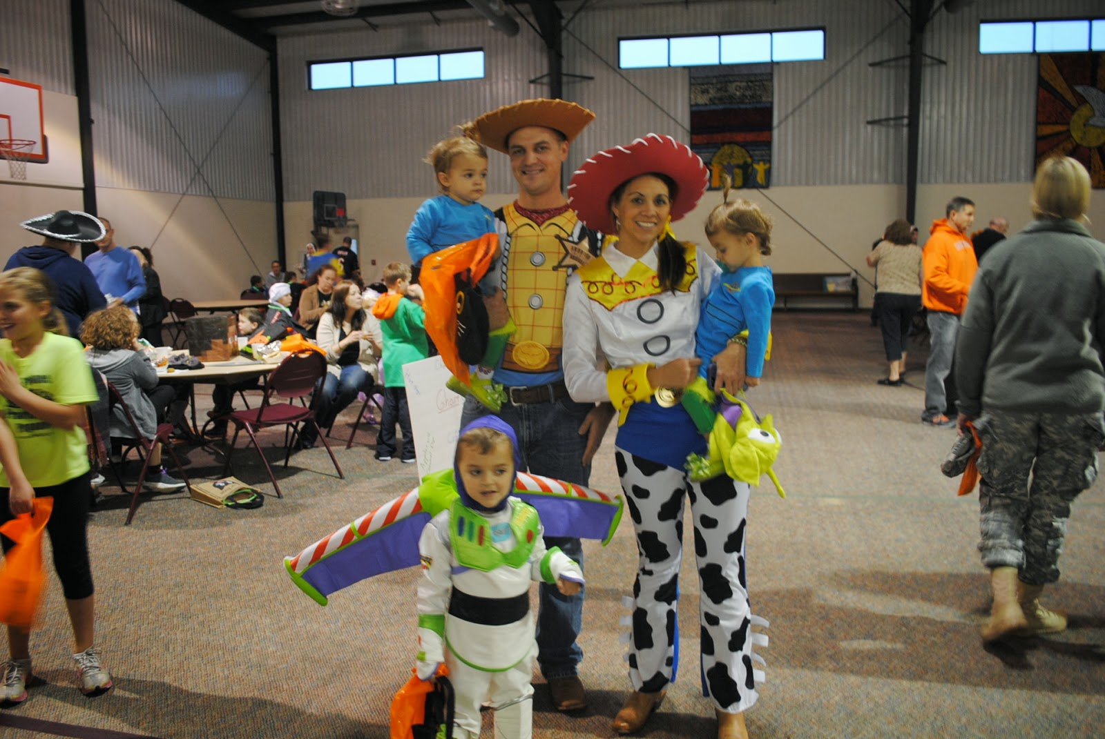 The Acree Family Happy Halloween Toy Story Style