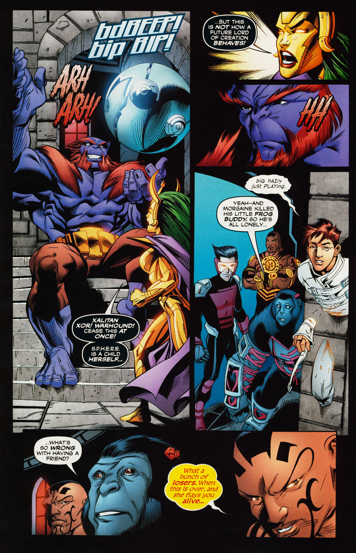 Read online Trinity (2008) comic -  Issue #43 - 12
