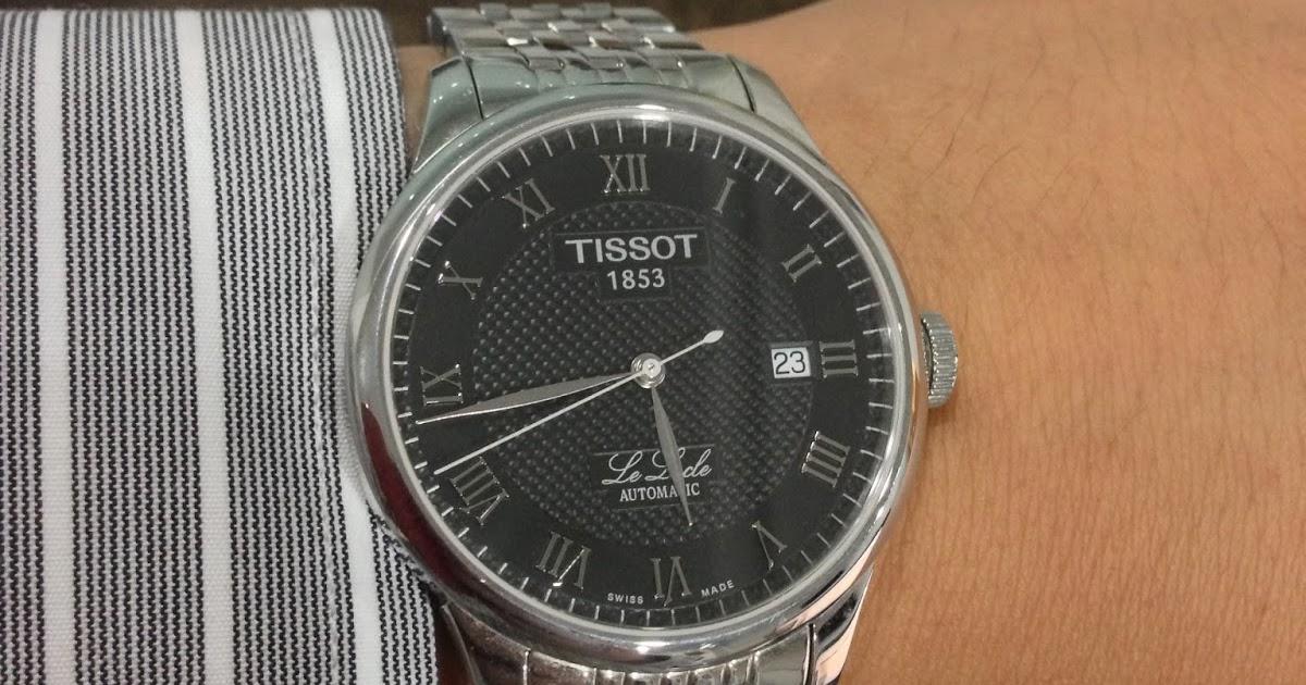 Много наслышан о марке tissot, и решил себе купить хорошие часы.