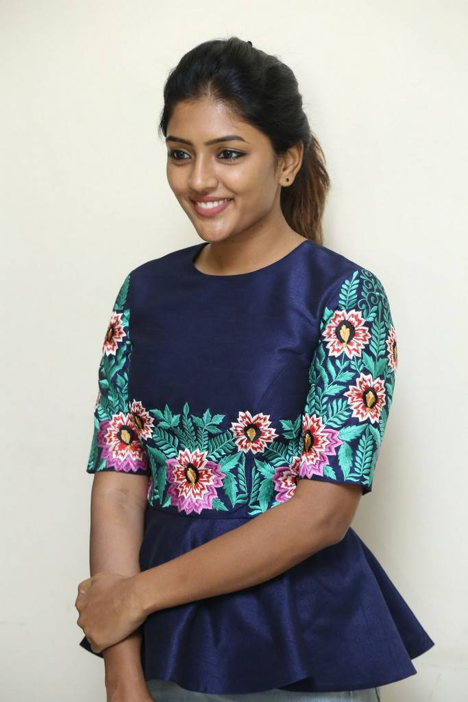 Actress Eesha At Darshakudu Movie Interview Stills