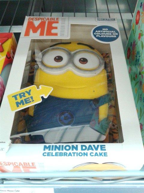 Minion Birthday Cake Tesco