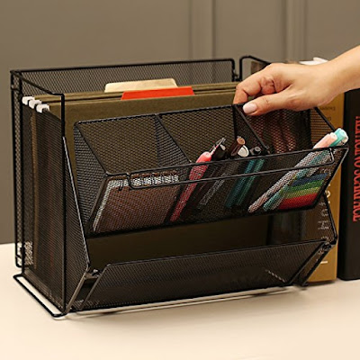 Shop Nile Corp Wholesale Wire Metal Foldable Desk Supply Organizer