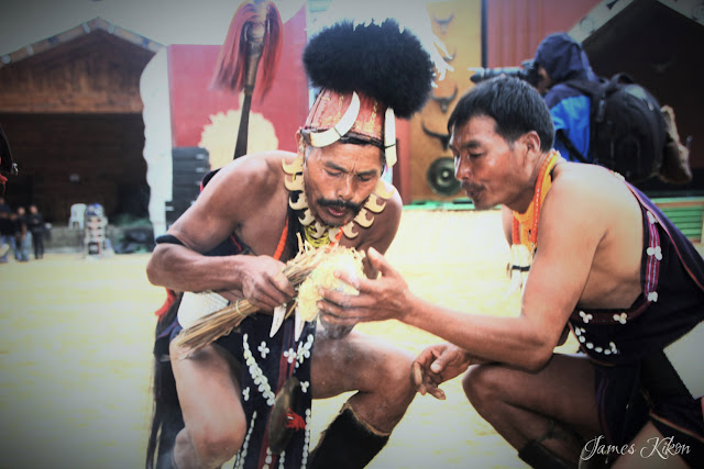 Naga Traditional Fire Making Competition | Hornbill Festival Nagaland 2015
