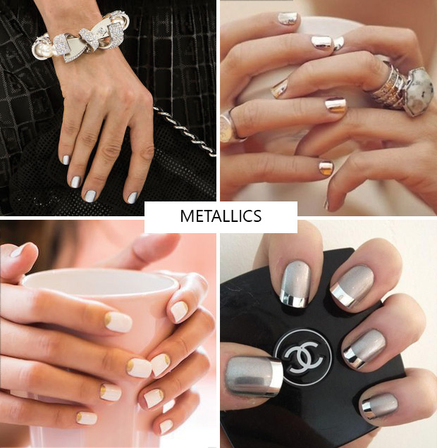 Peek At Some Of The Hottest Nail Designs For Spring Summer 2016 With Nudes Natural And Metallics Dominating Colors Backstage Manicurists Nailed