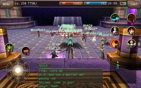 Iruna Online Raids
