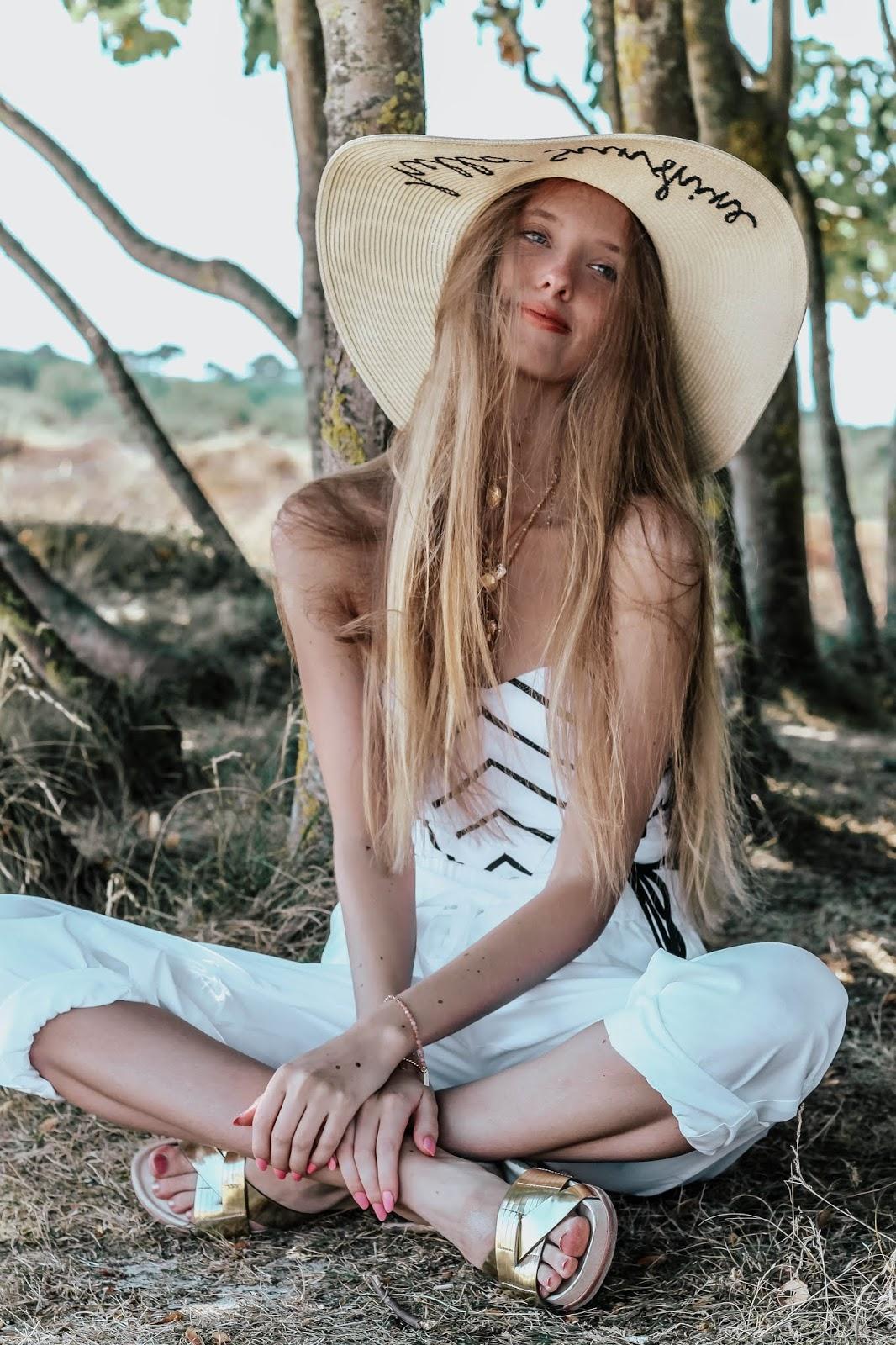 Chic All White Beach Summer Style