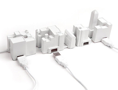 Creative USB Hubs and Unusual USB Hub Designs (15) 8
