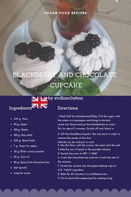 cupcake+vegan+blackberry+chocolate
