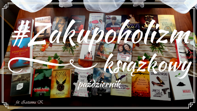 Październikowy zakupoholizm książkowy