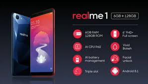Berbekal RAM 6GB, Inilah Harga Oppo Realme 1 dan Spesifikasi Terbaru