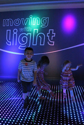 Omaha Children's Museum's Moving with Light