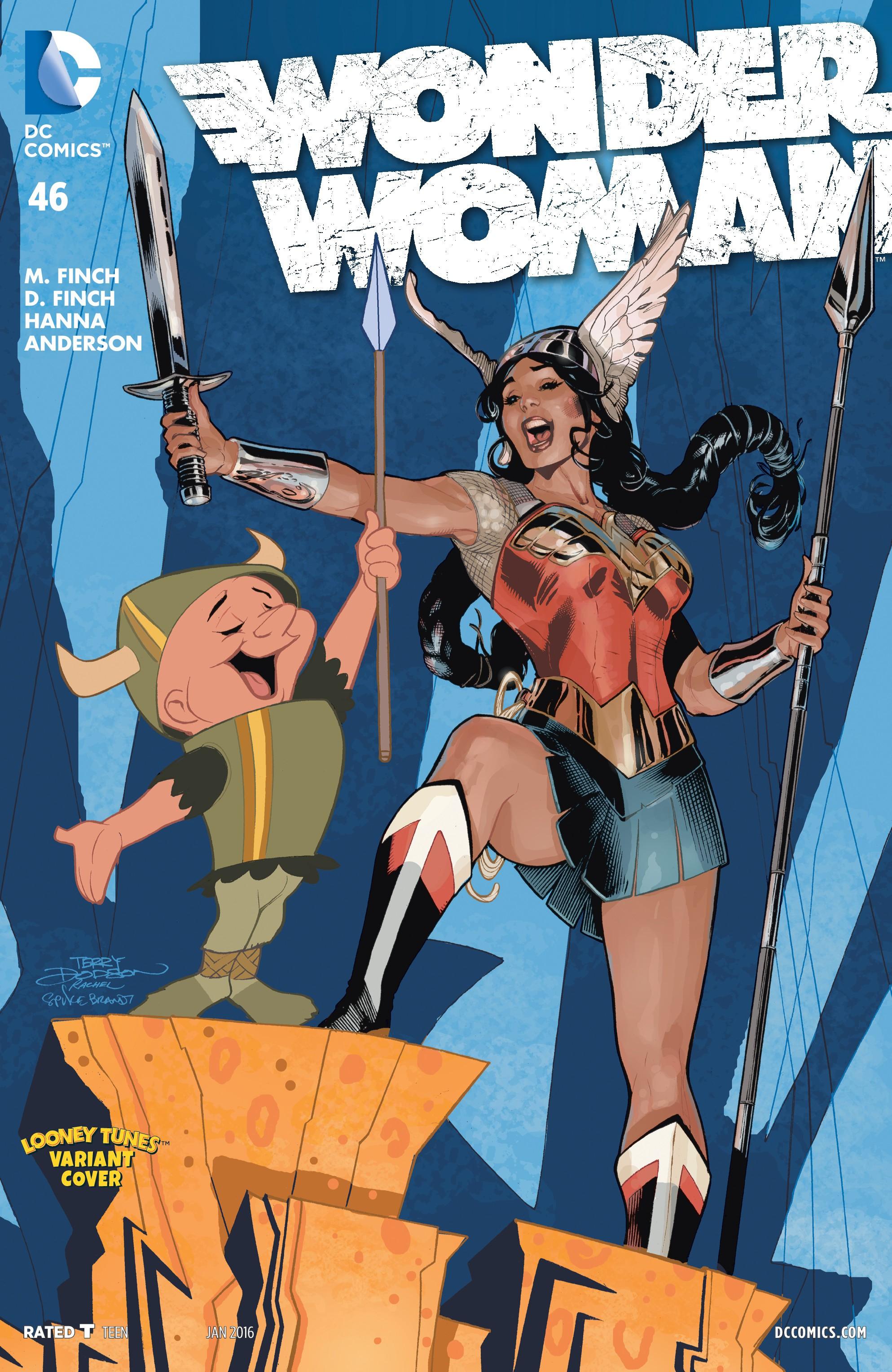 Read online Wonder Woman (2011) comic -  Issue #46 - 3