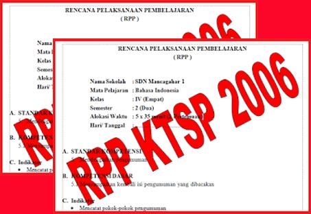 RPP KTSP SD/MI Lengkap