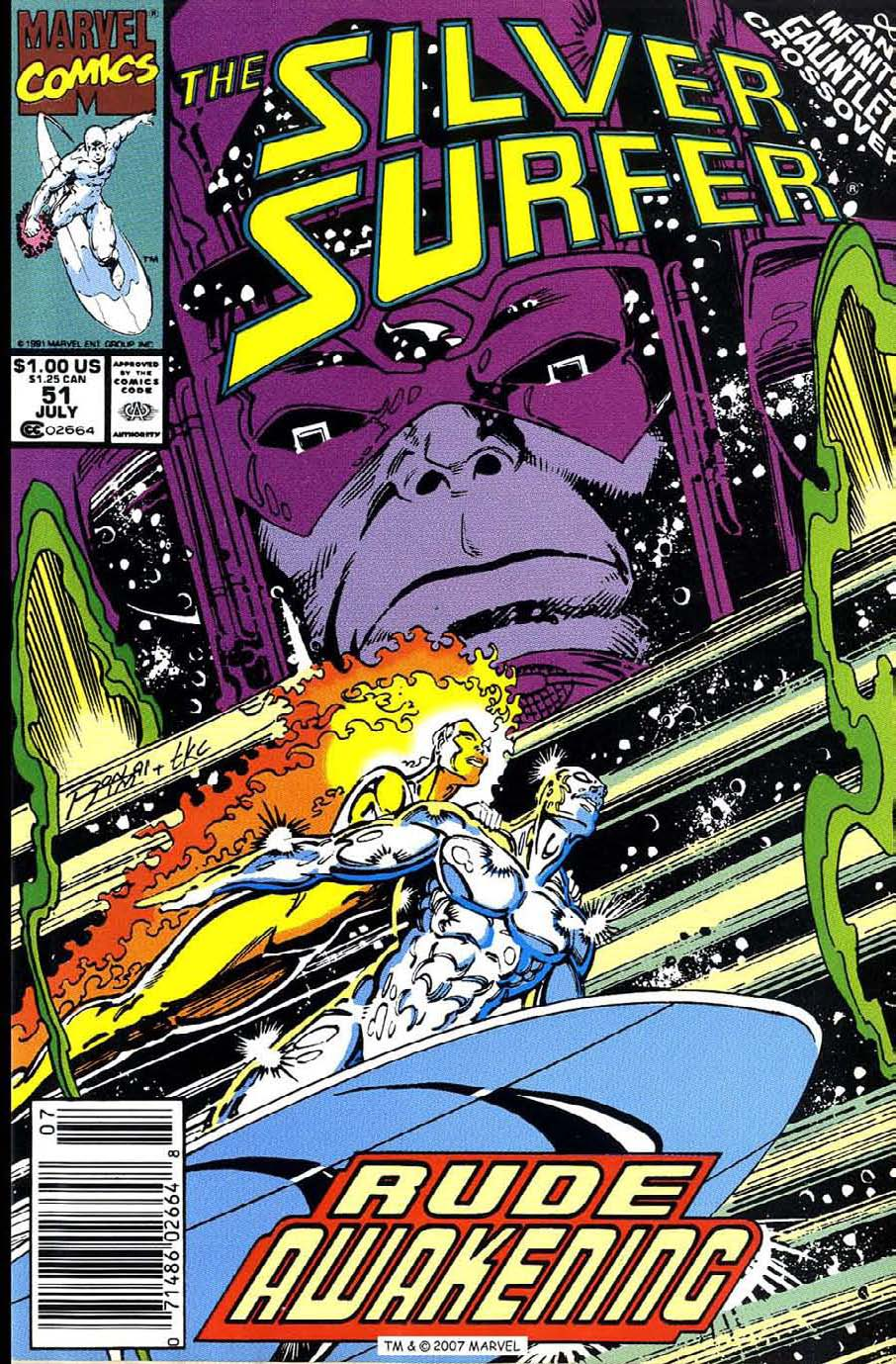 Silver Surfer (1987) issue 51 - Page 1