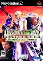 Phantasy Star Universe: Ambition of the Illuminus (PS2) 2007