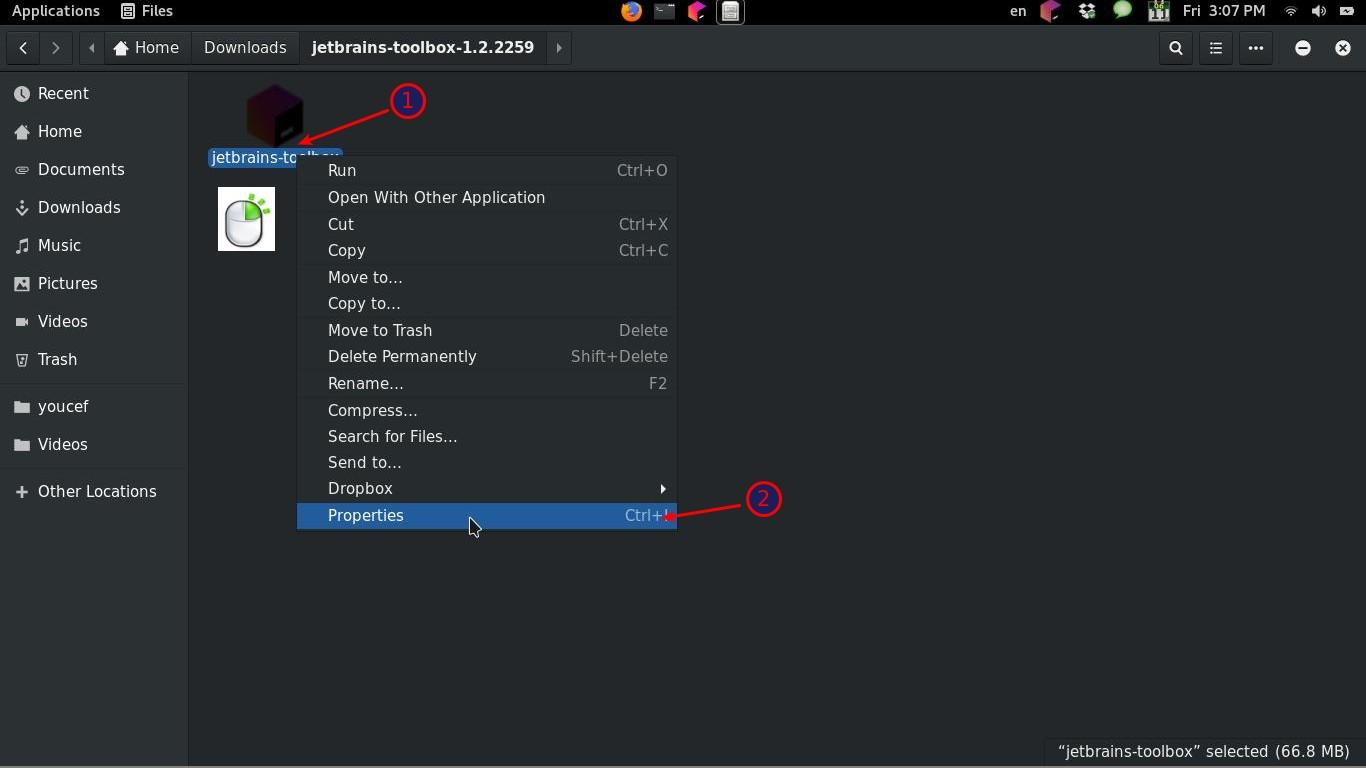 شرح JetBrains ToolBox لتنزيل برمجيات JetBrains الخاصة