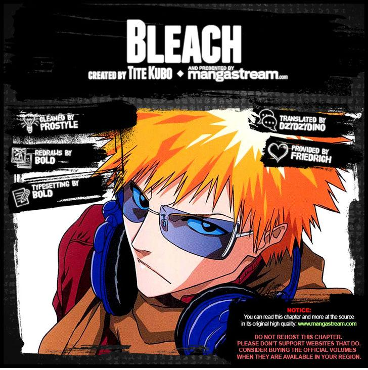 Bleach Ch.658: Fatal Matters Are Cold