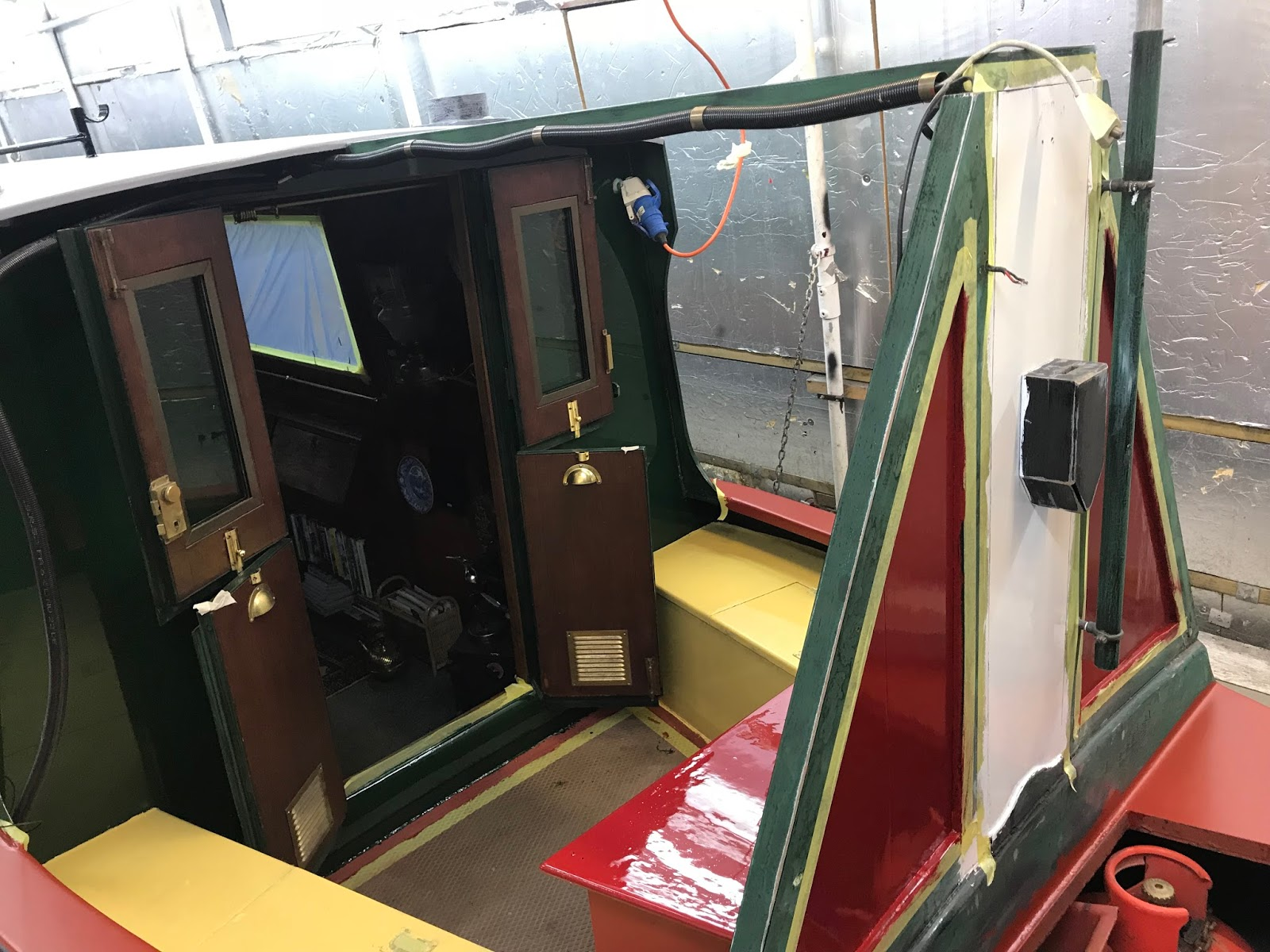 Image result for narrowboat well deck