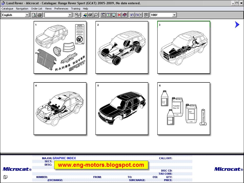 Land Rover Microcat 2012 Service Amp Spare Parts Catalog